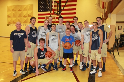 New Golden Eagle basketball fan